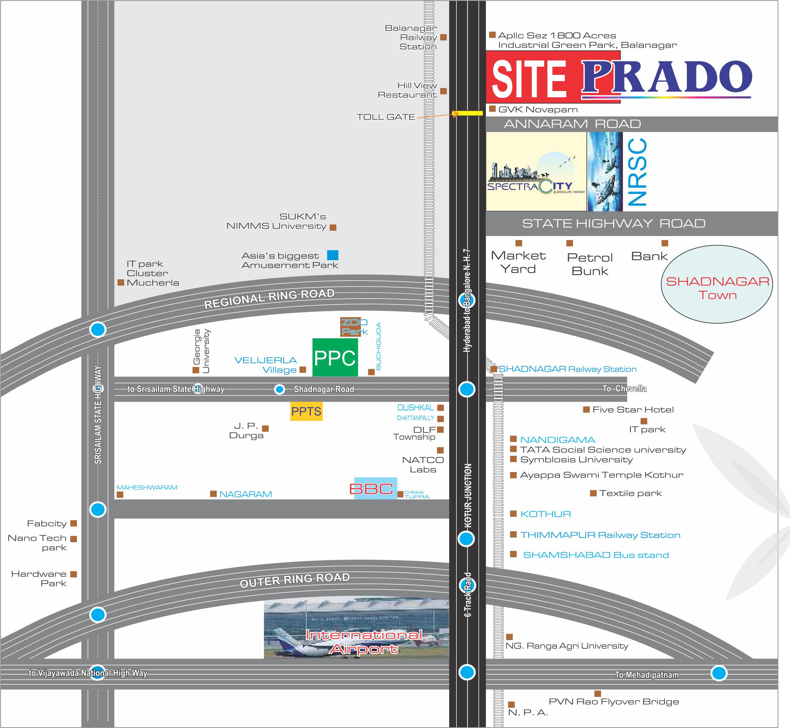 Location Map-Prado